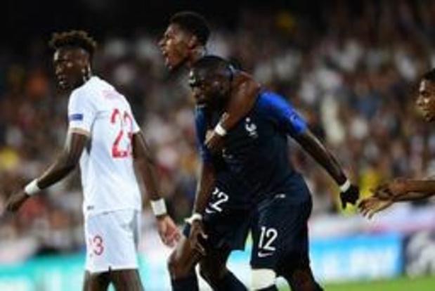 Euro Espoirs 2019 - La France remonte l'Angleterre malgré deux penalties manqués