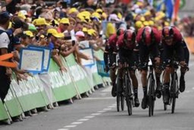 500.000 personnes présentes à Bruxelles pour la 2e étape du Tour de France