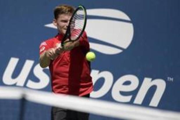 US Open - David Goffin qualifié pour les 8es de finale où il retrouvera Roger Federer