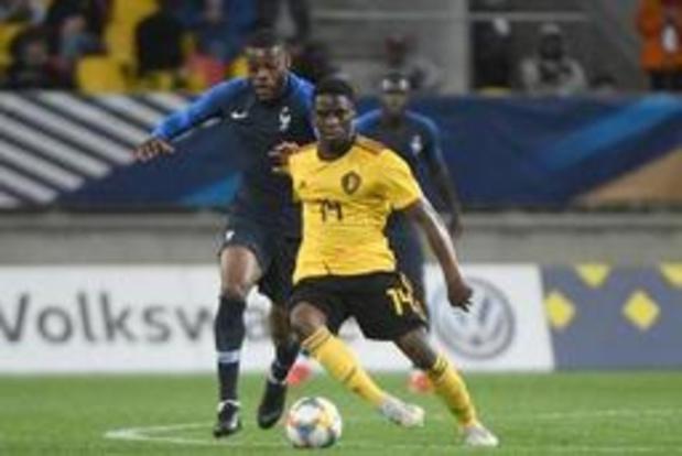EK U21 (m) - Belgische beloften lijden in laatste oefeninterland 3-0 nederlaag tegen Frankrijk