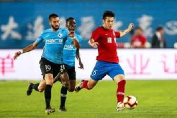 Le Dalian Yifang de Carrasco passe à côte de la finale de Coupe de Chine