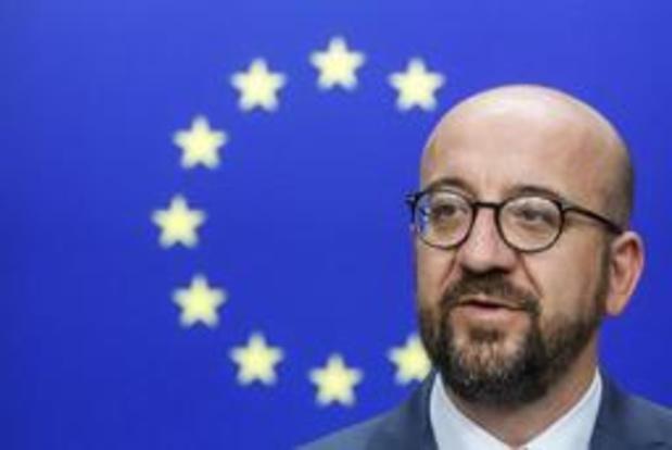 Charles Michel Premier ministre, président du MR et négociateur en chef jusqu'au 1/12