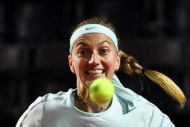 Petra Kvitova geeft forfait voor Roland Garros