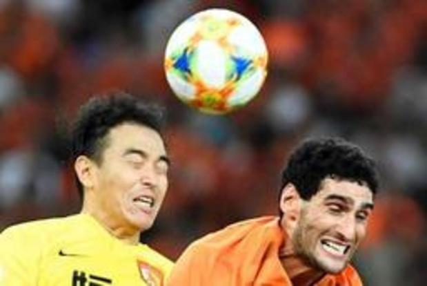 Fellaini rentre de suspension, marque et s'impose avec Shandong Luneng