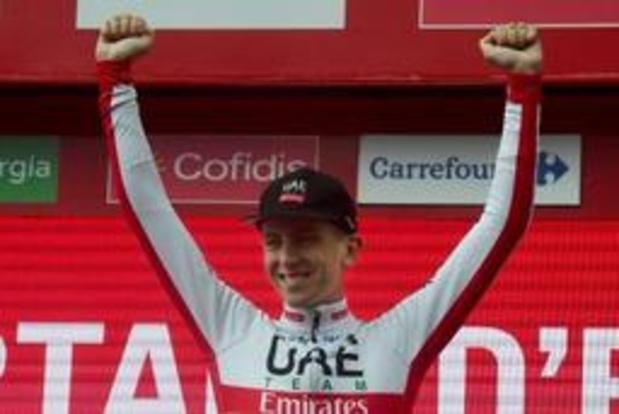 """Vuelta - Pogacar était content des prévisions météo: """"je pouvais faire quelque chose de spécial"""""""