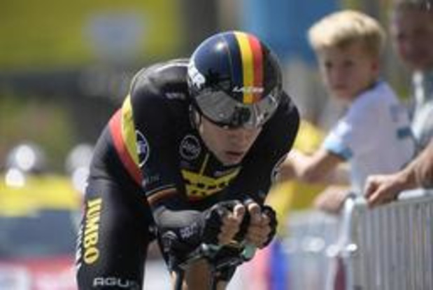 Wout van Aert abandonne après sa lourde chute
