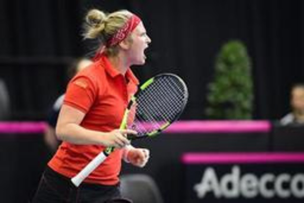Wimbledon - Ysaline Bonaventure, Yanina Wickmayer en Greet Minnen naar tweede kwalificatieronde