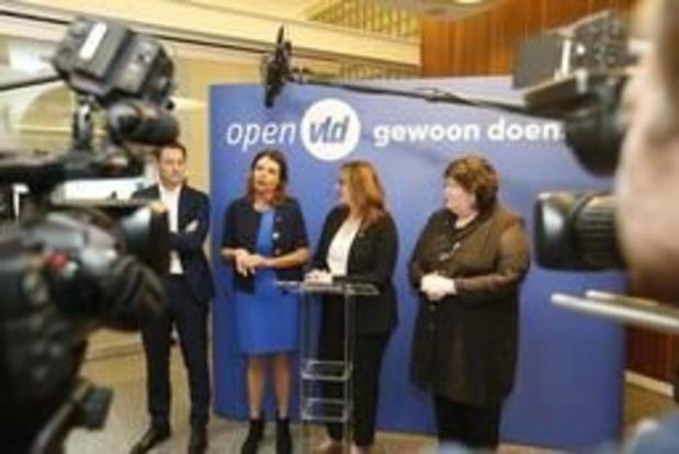Open Vld Vlaams-Brabant met Lien Degol, Goedele Liekens en Bob Savenberg naar kiezer