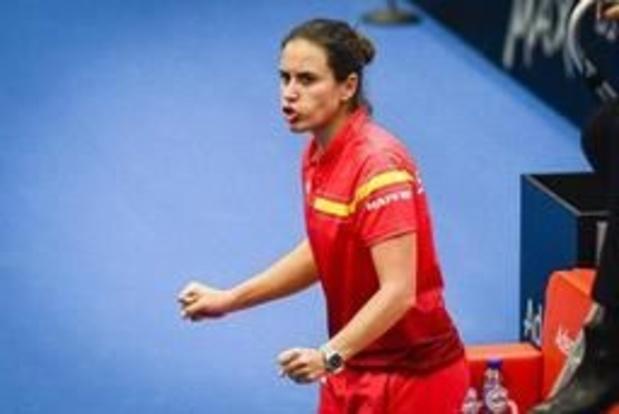 """Fed Cup - """"Belgen dreven ons tot het uiterste"""", zegt Spaanse kapitein na felbevochten zege"""