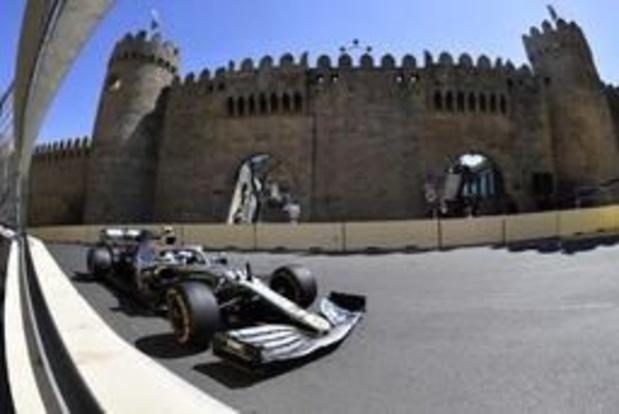 F1 - GP van Azerbeidzjan - Valtteri Bottas verovert polepositie