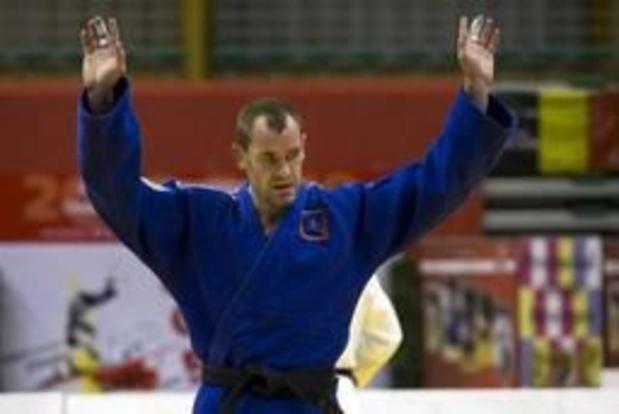 European Open de judo: Médaille d'argent pour Joachim Bottieau