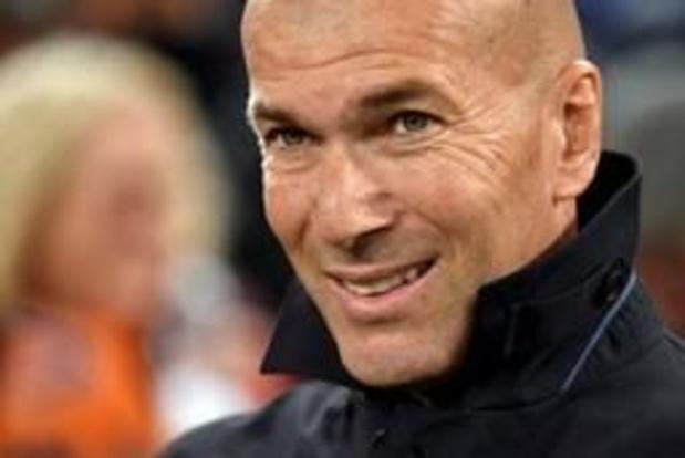 """Zinédine Zidane vindt Eden Hazard """"een fantastische speler"""""""