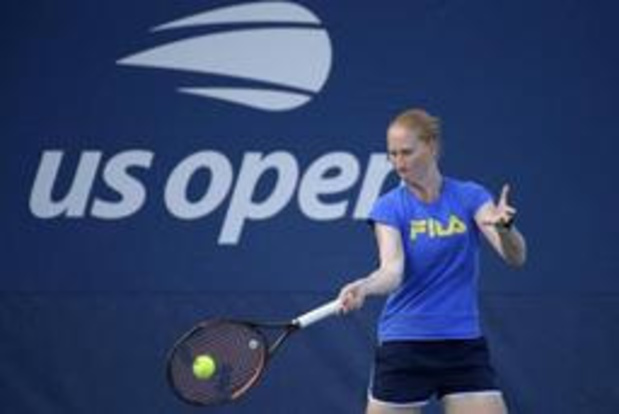 US Open - Alison Van Uytvanck naar tweede ronde