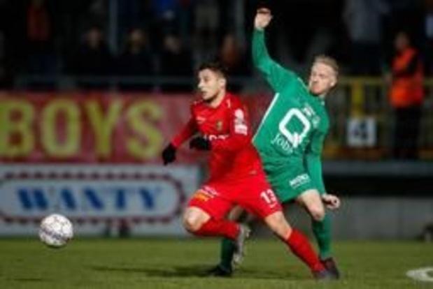 Proximus League - Tubeke en Lommel delen de punten in play-downs, Waals-Brabanders blijven laatste