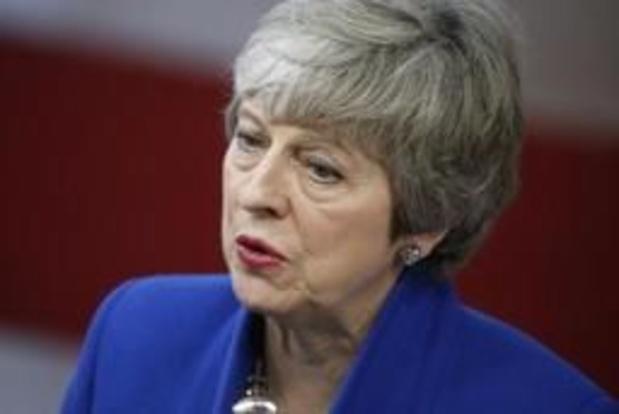 May: 'Verenigd Koninkrijk moet de EU zo snel mogelijk met een akkoord verlaten'