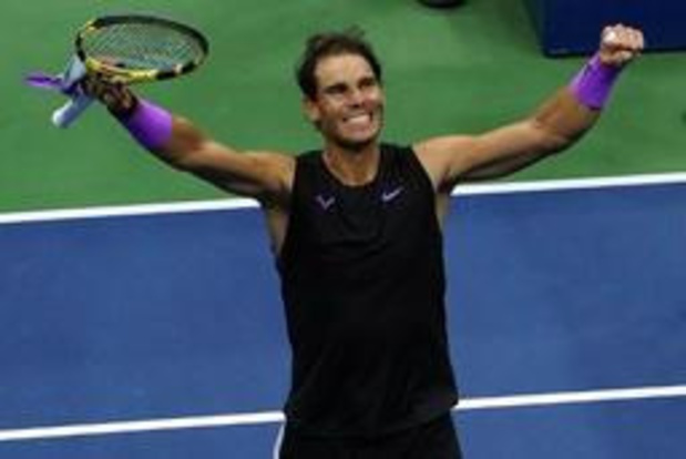 US Open - Nadal rejoint Medvedev en finale en battant Berrettini