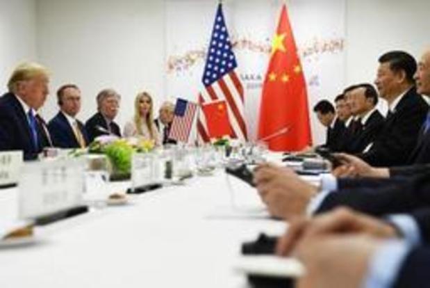 Handelsoorlog VS-China - Nieuwe onderhandelingsronde met China gaat nog door in september