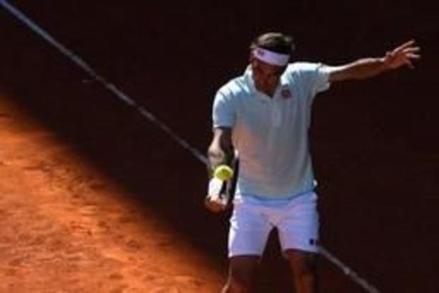 Malgré deux balles de match, Federer battu en quarts par Thiem pour son retour sur ocre