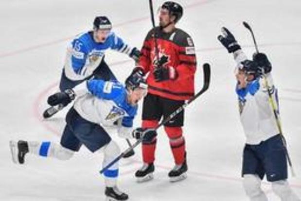 La Finlande bat le Canada et remporte un troisième sacre planétaire