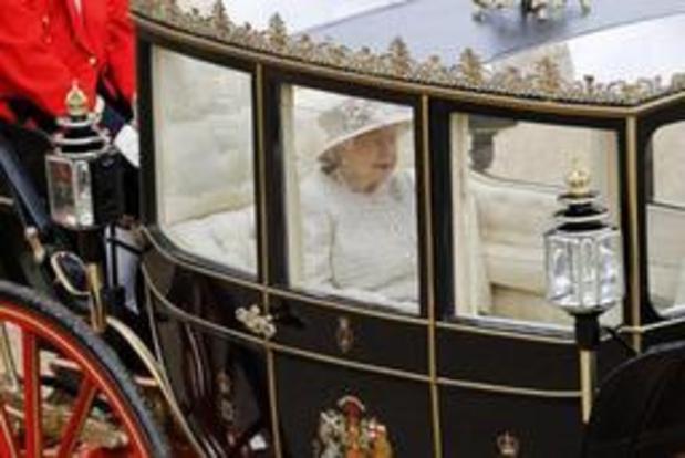 Britse Queen viert 93ste verjaardag met militaire parade