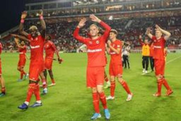 Antwerp speelt in mogelijke play-offronde tegen Mariupol of AZ