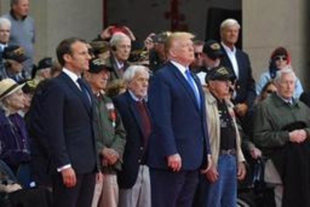 75 jaar D-Day: Macron onderstreept verbondenheid met Verenigde Staten