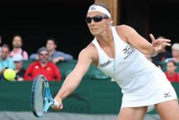 Kirsten Flipkens en Yanina Wickmayer naar tweede ronde van Wimbledon