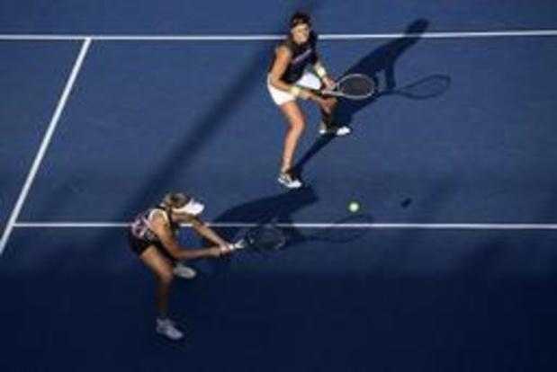 US Open - Elise Mertens bereikt eerste grandslamfinale na felbevochten zege
