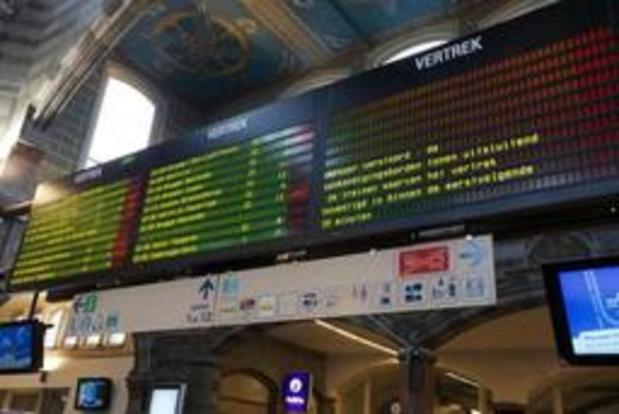 Stiptheid treinen opnieuw onder 90 procent