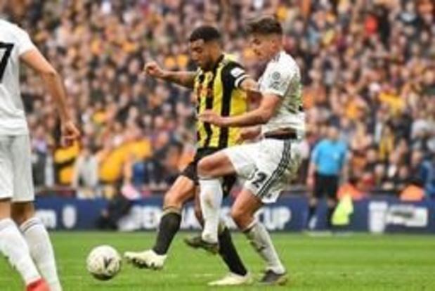 Les belges à l'étranger - Watford et Kabasele en finale de la Cup, premier but pour Legear avec Demirspor