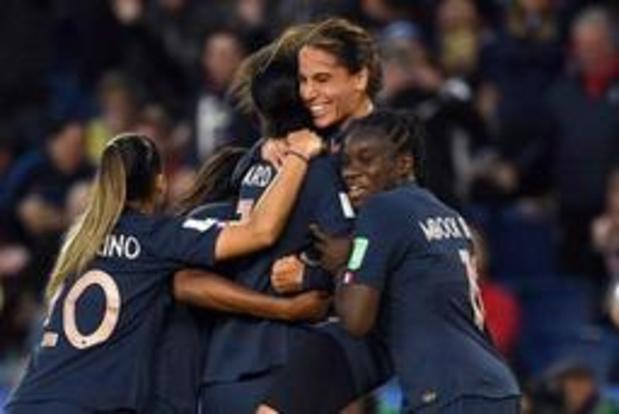 Mondial féminin - La France bat la Corée du Sud 4-0 dans le match d'ouverture