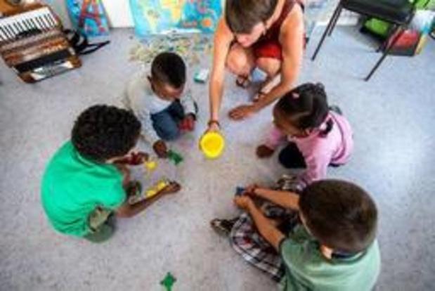 Minder dan de helft van vluchtelingenkinderen gaat naar school