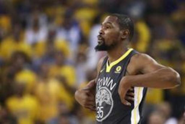 Golden State houdt titeldroom levend maar verliest opnieuw Durant