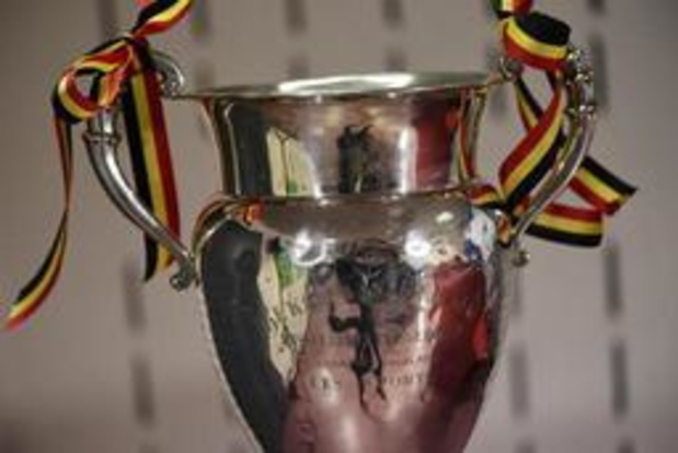 Affiche entre le Beerschot et Anderlecht en seizièmes de finale de Croky Cup
