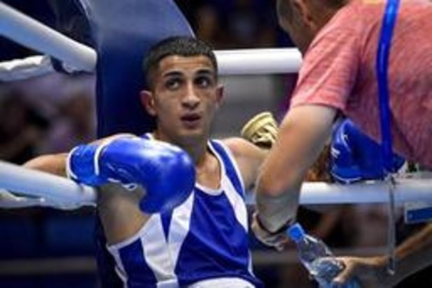 Le boxeur belge Vasile Usturoi éliminé en 8e de finale chez les poids coqs aux Jeux Européens