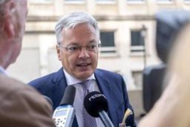 Commissaire européen belge: le 26 août n'est pas une échéance contraignante
