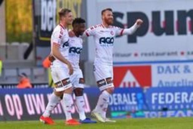 Jupiler Pro League - Courtrai continue sa course en tête dans le groupe B après sa victoire à Zulte-Waregem