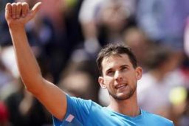 Roland-Garros: Dominic Thiem en demi-finales à Paris pour la 4e année de suite