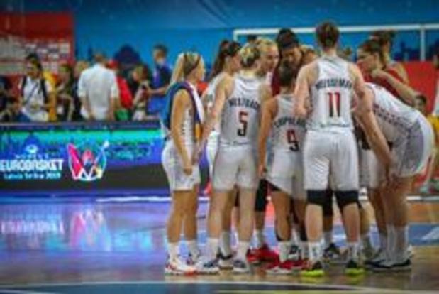 Euro de basket (d) - Le tableau des barrages et des quarts de finale