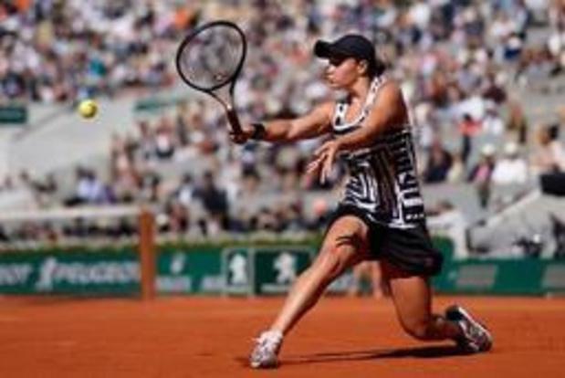 Ashleigh Barty remporte Roland-Garros en battant Marketa Vondrousova