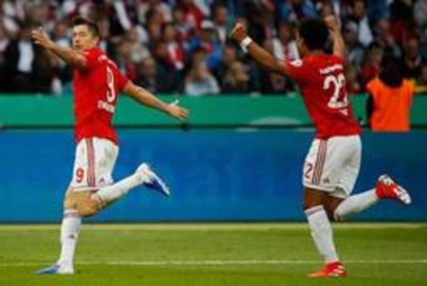 DFB-Pokal - Bayern München rekent in finale makkelijk af met RB Leipzig en pakt Duitse dubbel
