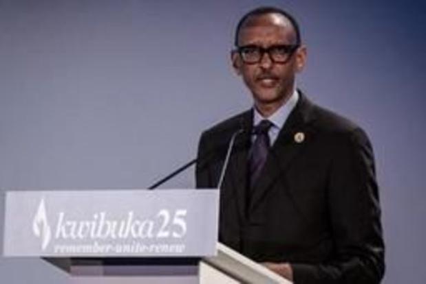 """Genocide Rwanda - """"Rwanda meer dan ooit verenigd"""", zegt president Kagame"""