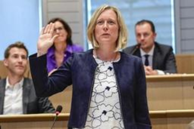 Bénédicte Linard, cheffe de groupe et négociatrice Ecolo pour la Fédération W-B