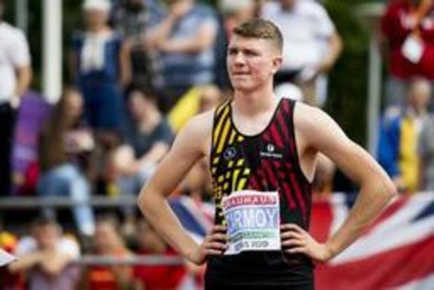 EK atletiek voor junioren - Goud voor Thomas Carmoy in hoogspringen, Elien Vekemans pakt brons in polsstokspringen