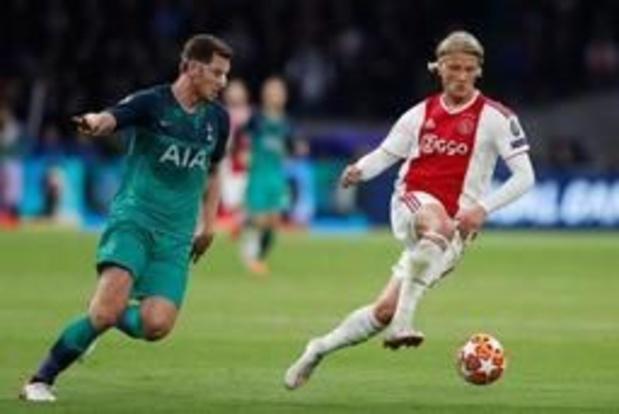 Vertonghen blesseert zich bij viering na zege, Champions League-finale in gevaar?