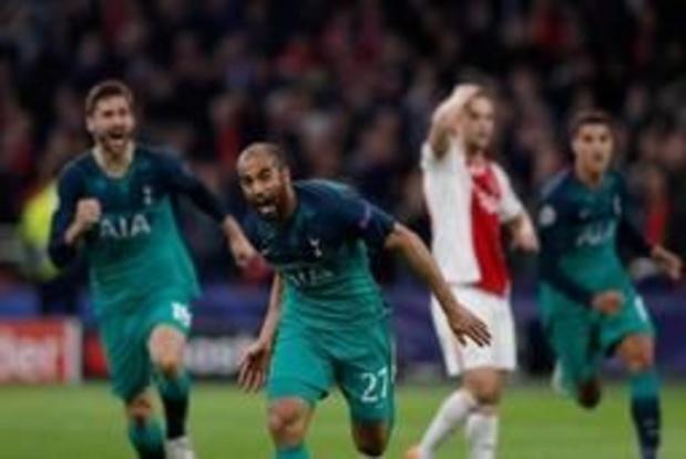 Ligue des champions - Tottenham élimine l'Ajax au bout du suspense et s'offre la première finale de son histoire