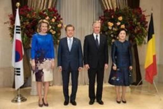 Les souverains et la délégation belge de retour en Belgique après 4 jours intenses à Séoul