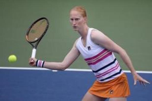 US Open: Alison Van Uytvanck éliminée au deuxième tour
