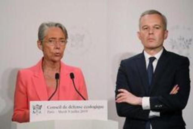 Franse minister van Mobiliteit Elisabeth Borne vervangt opgestapte François de Rugy