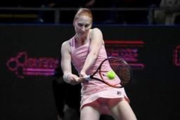 Alison Van Uytvanck bereikt tweede ronde in Lugano